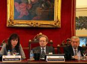 Apertura de la Jornada con la Presidente de la SEOM Isabel Barreiro