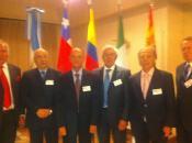 Jorge Rojas, Carlos Pesa, Norberto Larroca, Juan C. Linares, Héctor Vazzano e I
