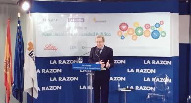 Ignacio Para pronuncia su conferencia