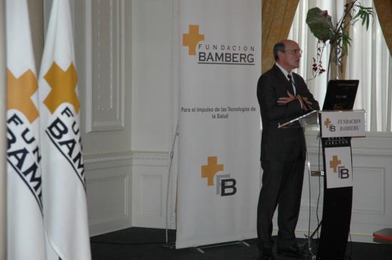 El Consejero Bengoa durante su presentación.