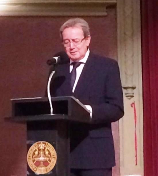 Conferencia sobre política económica y sanitaria del presidente de la Fundación Bamberg, Ignacio Para