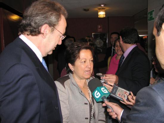 La consejera de sanidad de Galícia