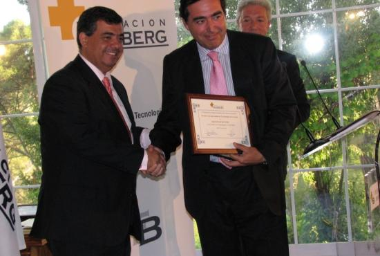 Premio a la Innovación en Tecnologías de la Salud a Boston Scientific, Carlos Ib