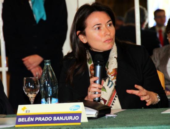 La intervensión de la viceconsejera de Madrid