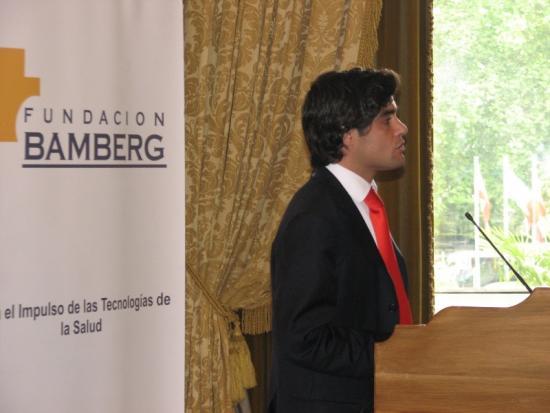 El Consejero Güemes, durante su exposición