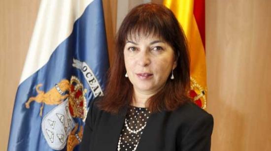 Consejera de Sanidad de Canarias, Brigida Mendoza