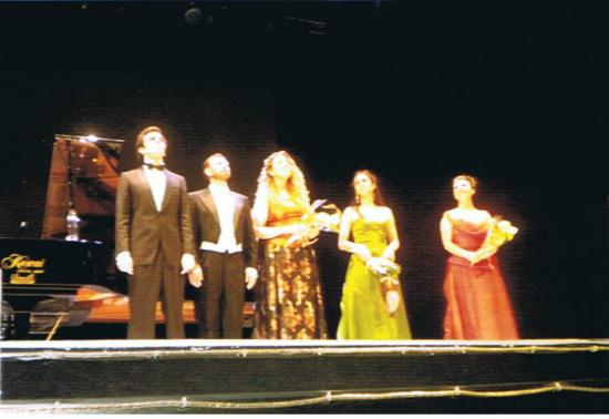 Francisco Javier Alonso y Beatriz Sivan fueron las estrellas del Concierto