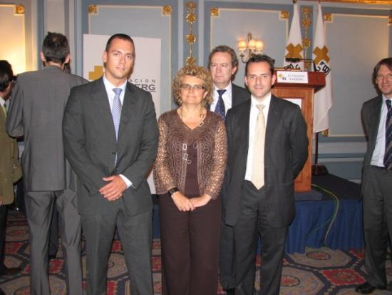 Javier Lopez de Microsoft y Albert Sire, Socio de Accenture