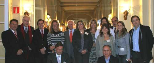 Portugueses asistentes en la facultad de Medicina de la UCM