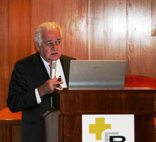 El Dr. Lopez Ibor pronuncia su magnífica conferencia
