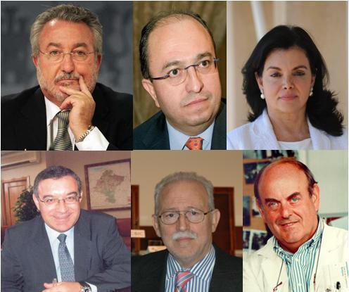 B. Soria, M. Avilés, C. Peña, J. Soto, J. Samblas y H. Cortés-Funes