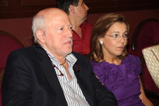José Samblás y su esposa