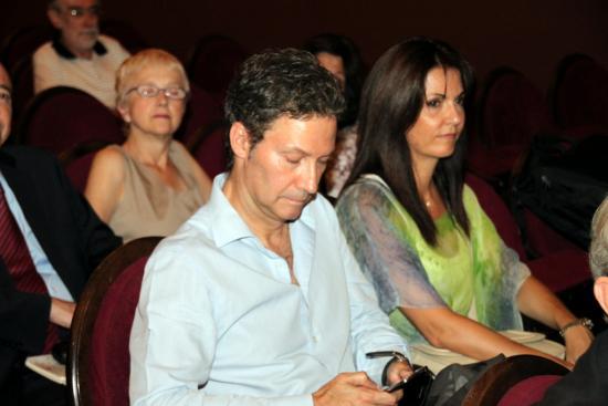 Carlos Alberto Arenas y su esposa