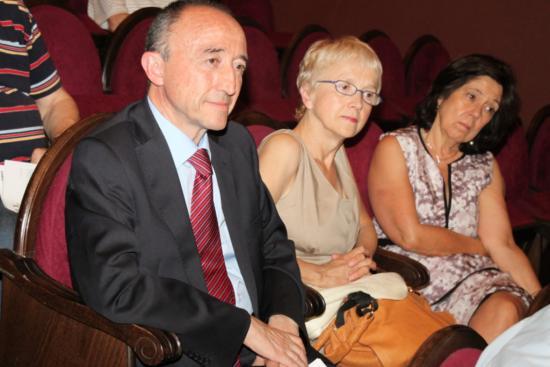 Fernando Lamata y su esposa