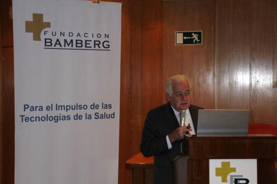 El Prof. Lopez Ibor en otro momento de su conferencia