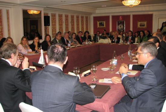 El auditorio durante el encuentro